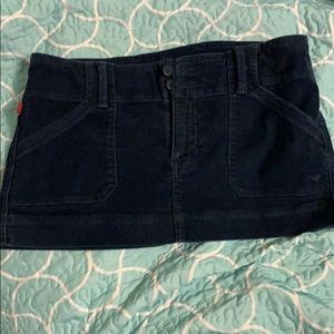 Courdory Navy Skirt